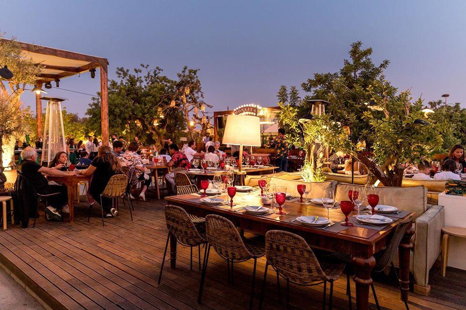 Praia na Villa restaurant and bar in Vilamoura